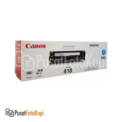 Canon Cartridge 418 – Cyan (imageclass MF 8350 CDN, imageclass MF 729 CX, imageclass MF 8380 CDW, imageclass MF 8580 CDW)