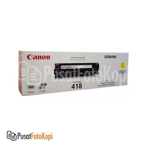 Canon Cartridge 418 – Yellow (Imageclass MF 8580 CDW, Imageclass MF 729 CX, Imageclass MF 8350 CDN, Imageclass MF 8380 CDW)