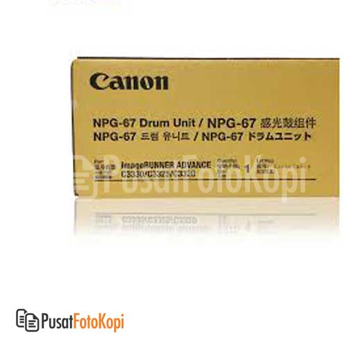 CANON DRUM NPG 67 – YELLOW (IRA C3320:3325:3330)