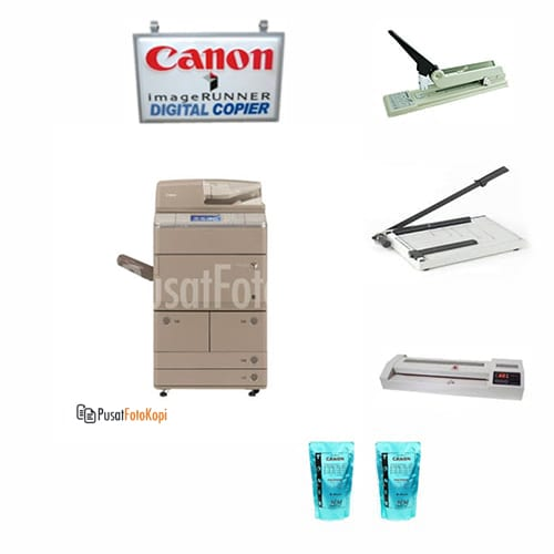 Paket Usaha E: Mesin Fotocopy Canon Imagerunner Advance 6075 / 6065 + Perlengkapan