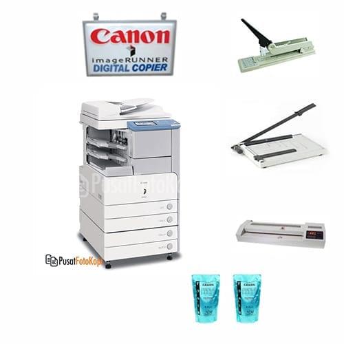 Paket Usaha C: Mesin Fotocopy Canon Imagerunner 3045 + Perlengkapan