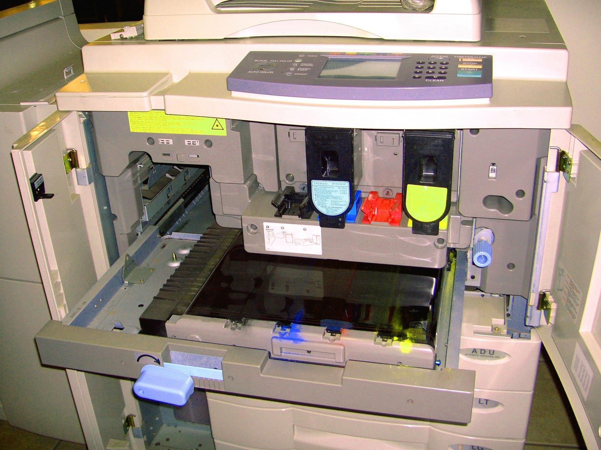 cara membersihkan drum fotocopy