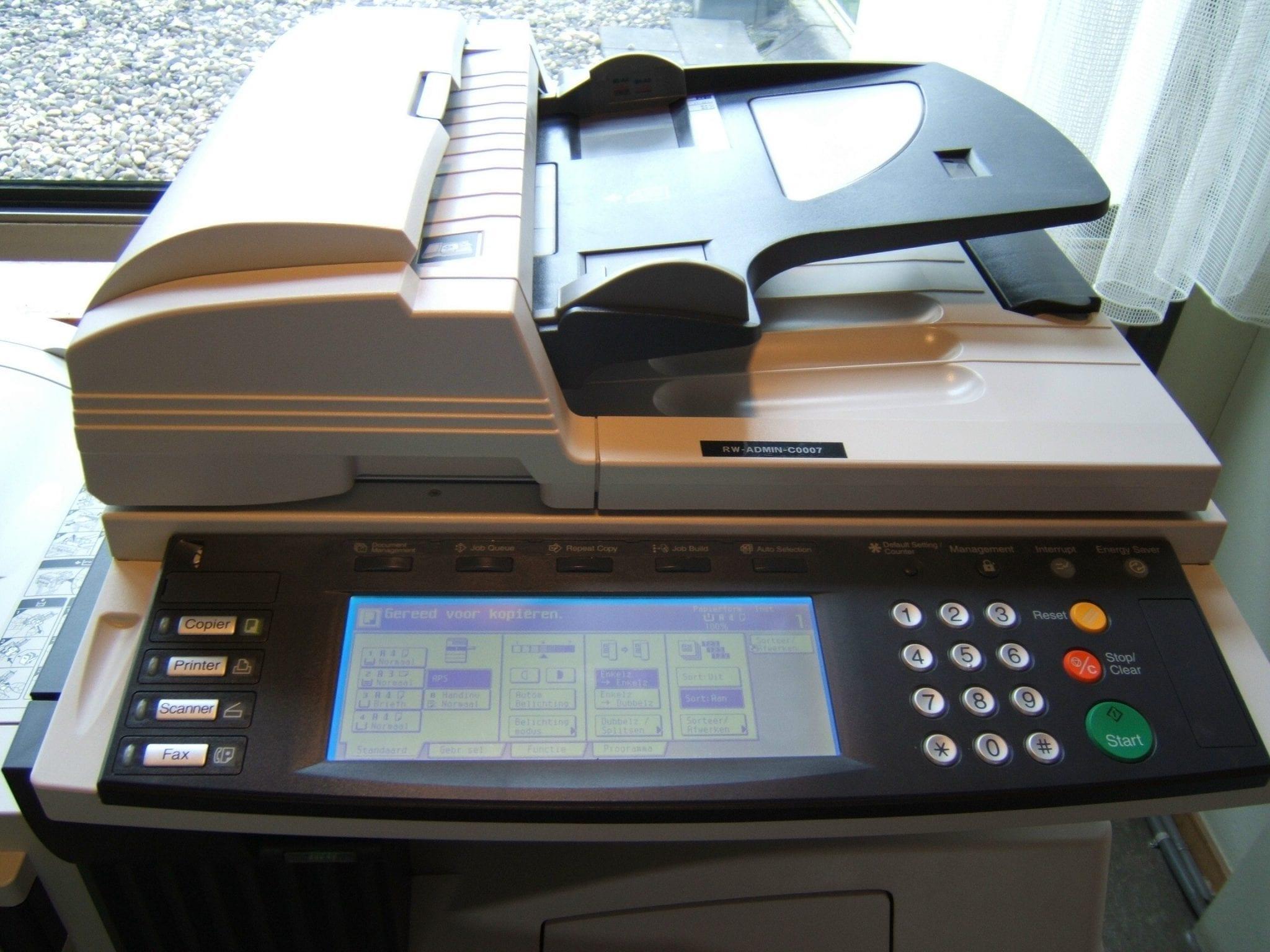kekurangan mesin fotocopy mini