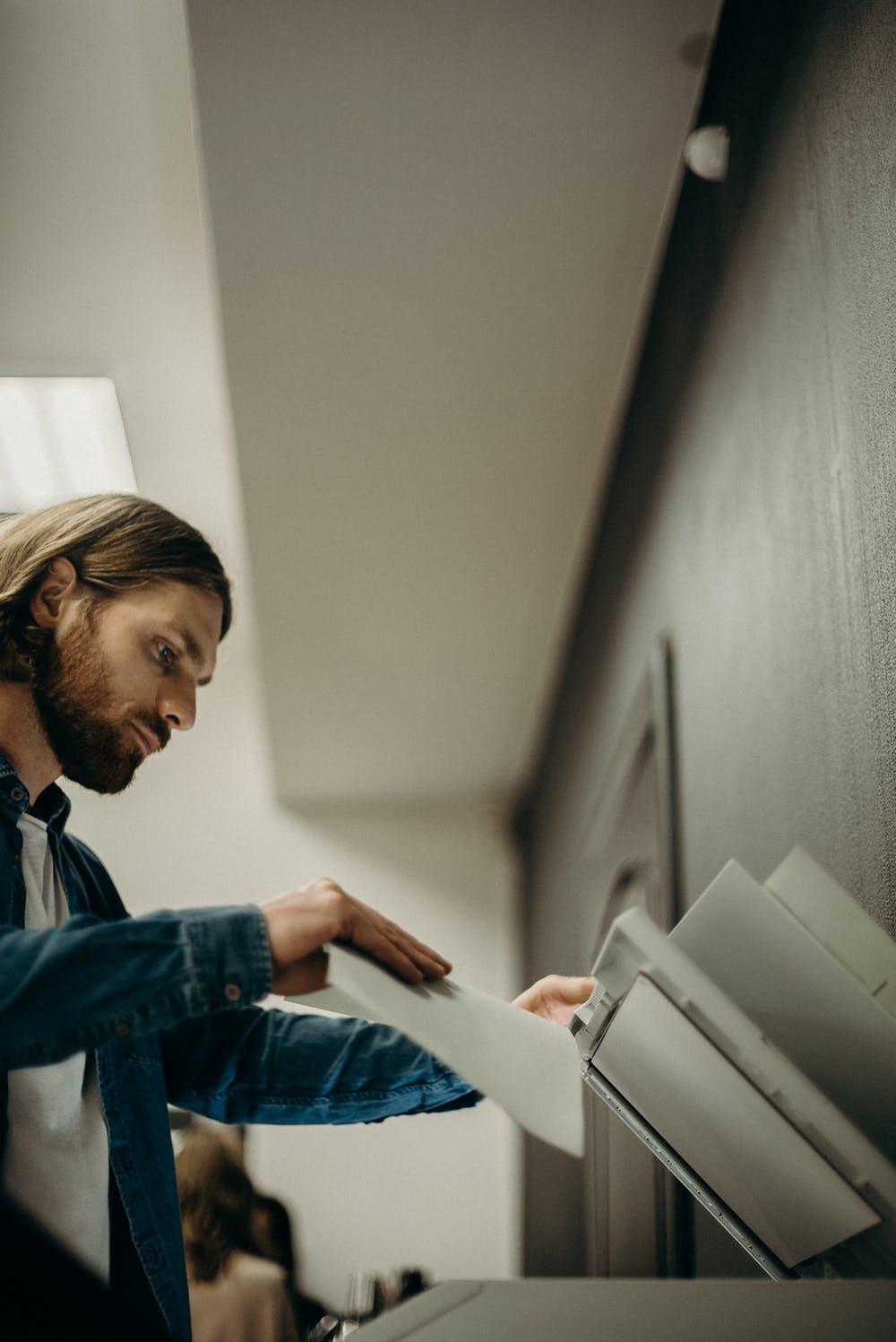cara forma hardisk mesin fotocopy
