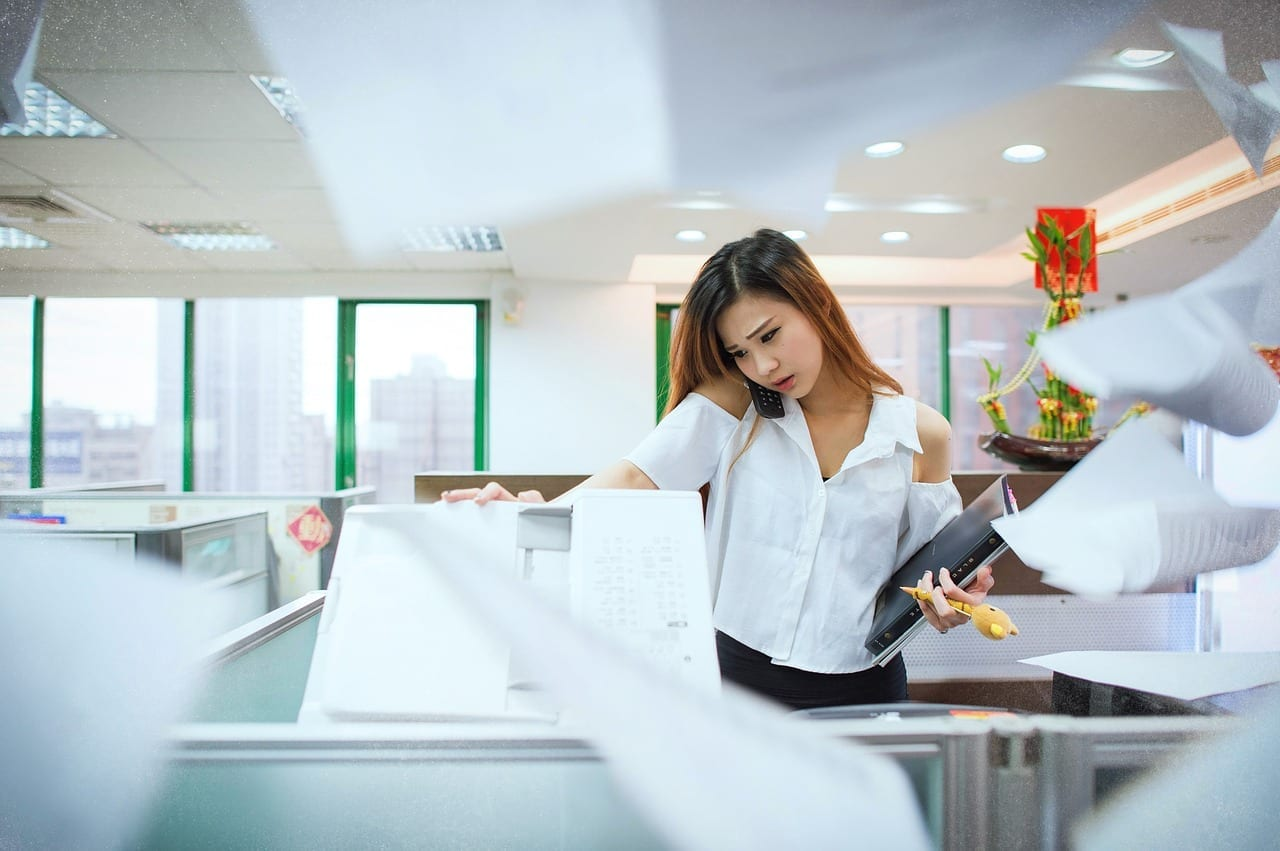 dampak lingkungan usaha fotocopy