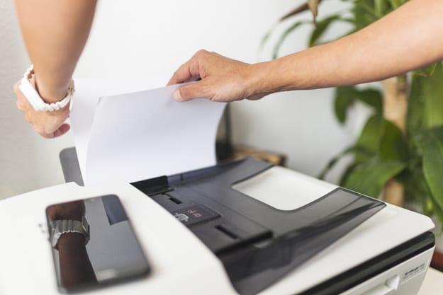 cara print di mesin fotocopy