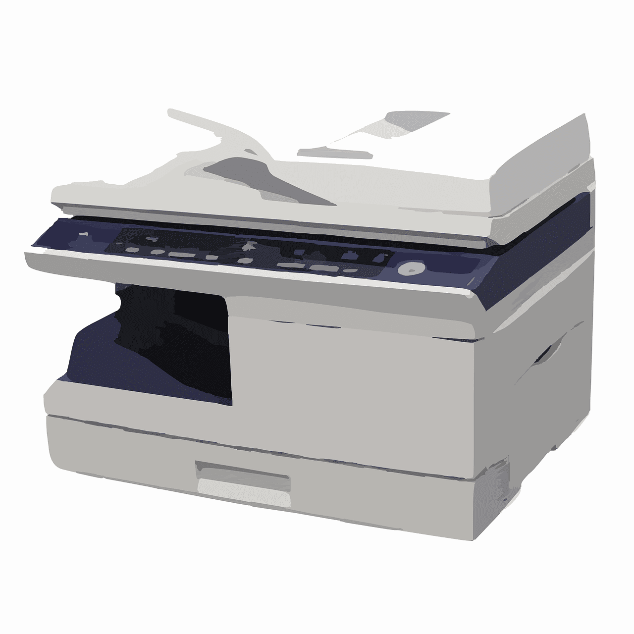 sebuah mesin fotocopy dibeli dengan harga