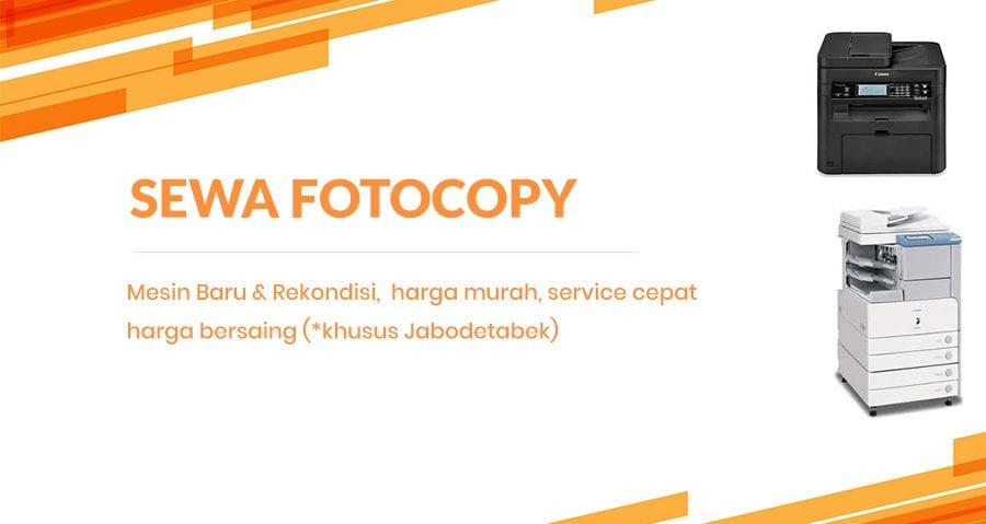 Sewa Rental Mesin Fotocopy