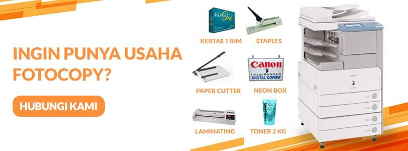 paket usaha fotocopy dengan berbagai perlengkapan